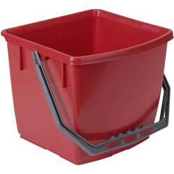ECOLAB Floordress Eimer 15 Liter rot