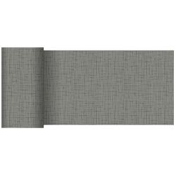 Duni Tischläufer 15 cm x 20 m linnea-granite-grey