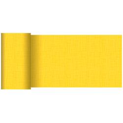 Duni Tischläufer 15 cm x 20 m linnea-gelb