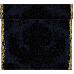 Duni Tischläufer 40 cm x 24 m (perforiert) royal-black