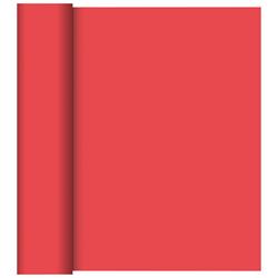 Duni Tischläufer 40 cm x 24 m (perforiert) rot