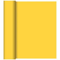 Duni Tischläufer 40 cm x 24 m (perforiert) gelb