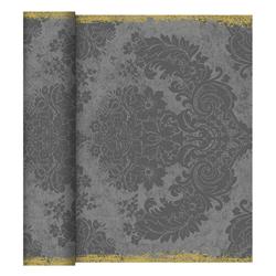 Duni Tischläufer 40 cm x 24 m (perforiert) royal-granite-grey