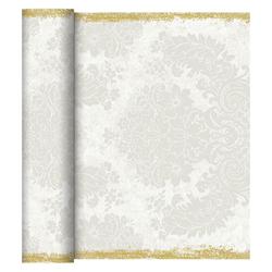 Duni Tischläufer 40 cm x 24 m (perforiert) royal-white