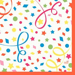 Duni Servietten 33 x 33 cm confetti