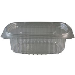 Vorschau: Salatschale oval glasklar 184x158x66 mm ( 50 Stück ) online kaufen - Verwendung 2