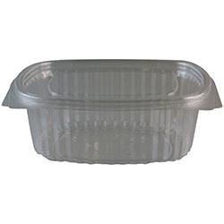 Salatschale oval glasklar 150x124x55 mm ( 50 Stück )