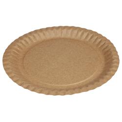 Pappteller rund mit Fettbarriere