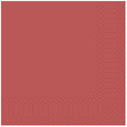 Vorschau: Duni Servietten 33 x 33 cm bordeaux online kaufen - Verwendung 2