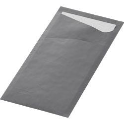 Vorschau: Duni Sacchetto Bestecktasche granite-grey online kaufen - Verwendung 2