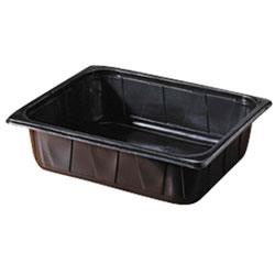 Vorschau: Duni Menüschale ungeteilt schwarz 325x265x80 mm ( 96 Stück ) online kaufen - Verwendung 2