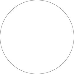 Duni Dunilin-Untersetzer rund  9 cm weiß