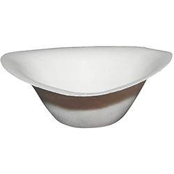 naturesse® Trigon Bowle weiß 211x204x66 mm ( 50 Stück )
