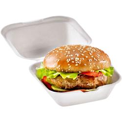 naturesse® Hamburger-Box 150 x 150 x 80 mm