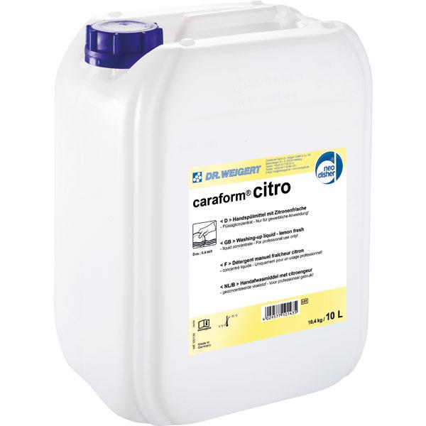 Dr.Weigert caraform® citro Handspülmittel 10 Liter online kaufen - Verwendung 1