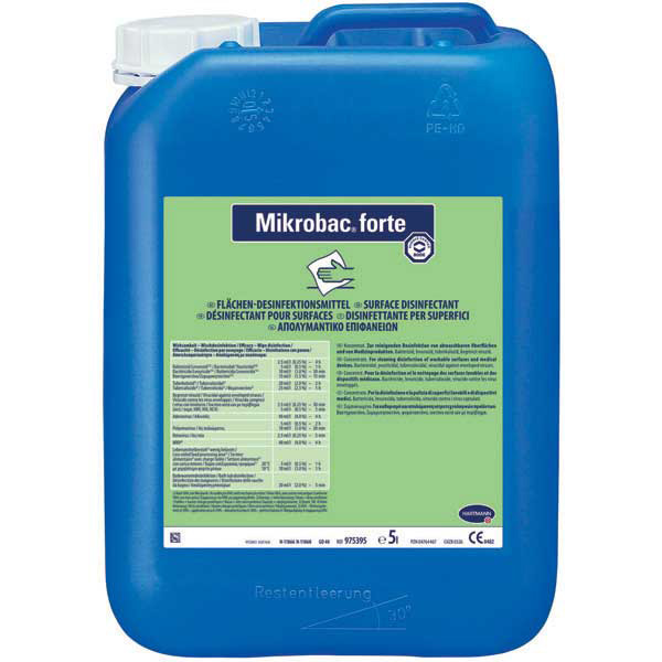 Mikrobac forte Desinfektionsreiniger