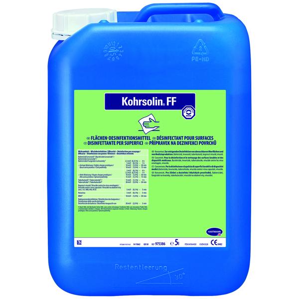 Hartmann Kohrsolin® FF Flächen-Desinfektionsreiniger 5 Liter
