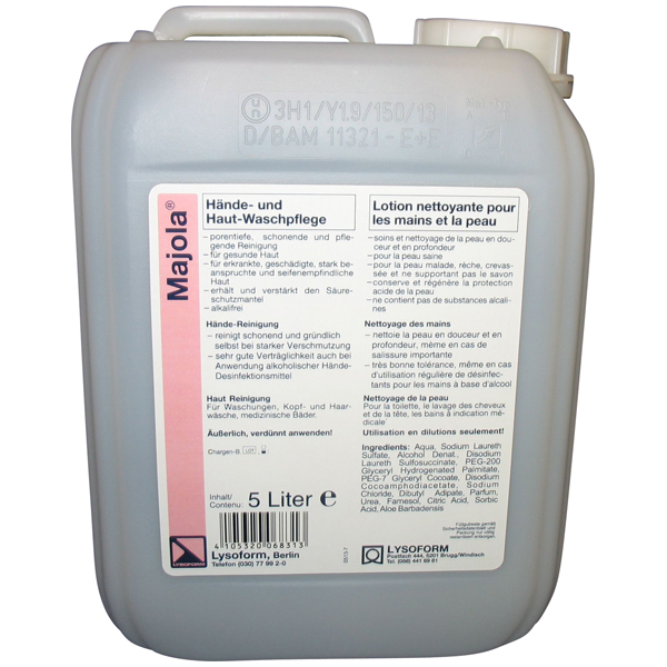 Lysoform Majola® Waschpflege 5 Liter
