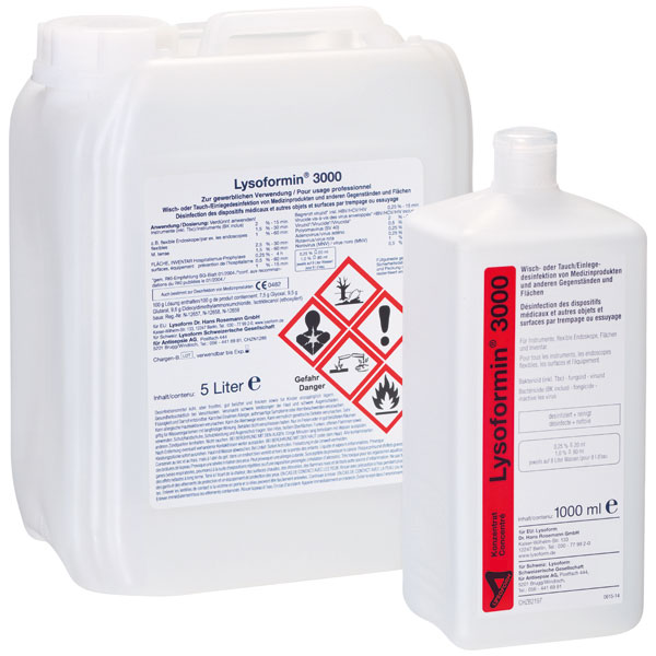 Lysoform® 3000 Instrumenten-Desinfektion 1 Liter