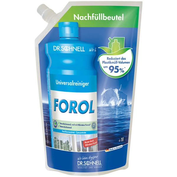 Dr.Schnell Forol Universalreiniger Nachfüllpackung 12 x 1 Liter