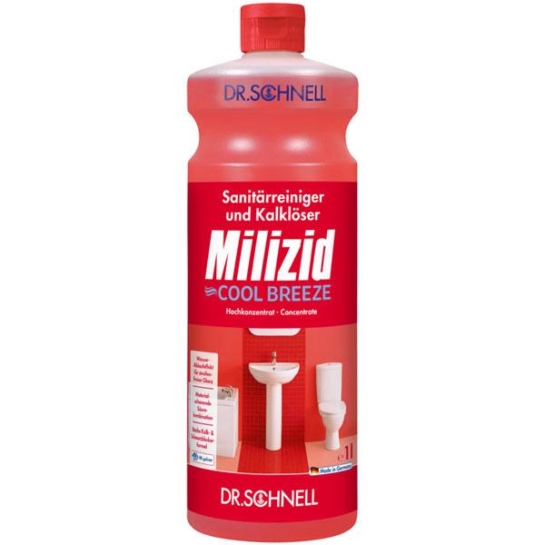 Dr.Schnell Milizid Cool Breeze Sanitärreiniger 1 Liter