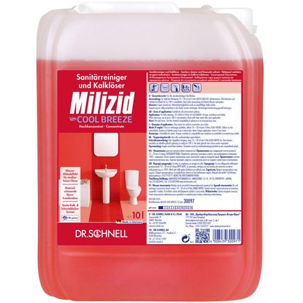 Dr.Schnell Milizid Cool Breeze Sanitärreiniger 10 Liter