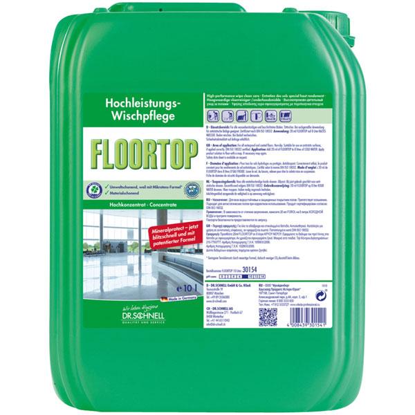 Dr.Schnell Floortop Hochleistungs-Wischpflege 10 Liter