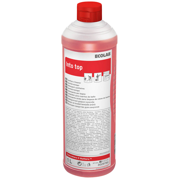 ECOLAB Into Top Sanitär-Kraftreiniger 1 Liter