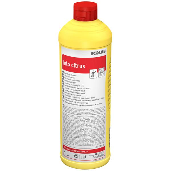 ECOLAB Into Citrus Sanitär-Kraftreiniger 1 Liter
