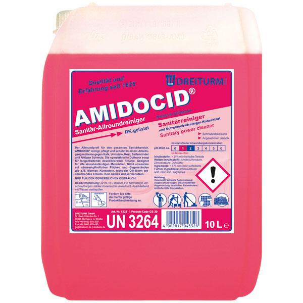 Dreiturm Amidocid Sanitär- & Schwimmbadreiniger 10 Liter