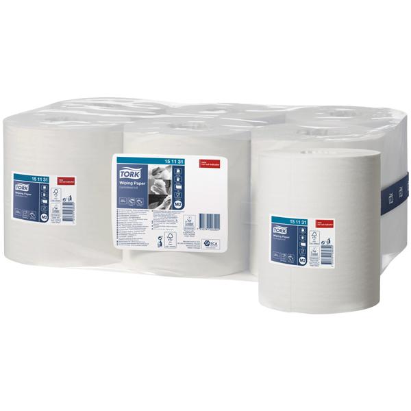 Vorschau: Tork Mehrzweck Papierwischtücher online kaufen - Verwendung 2
