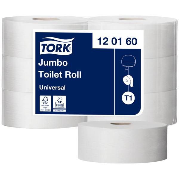Tork Jumbo Toilettenpapierrolle T1 Universal
