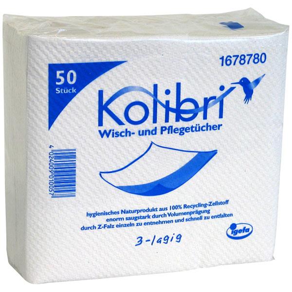 Kolibri Wisch- und Pflegetuch 40 x 36cm 3-lagig
