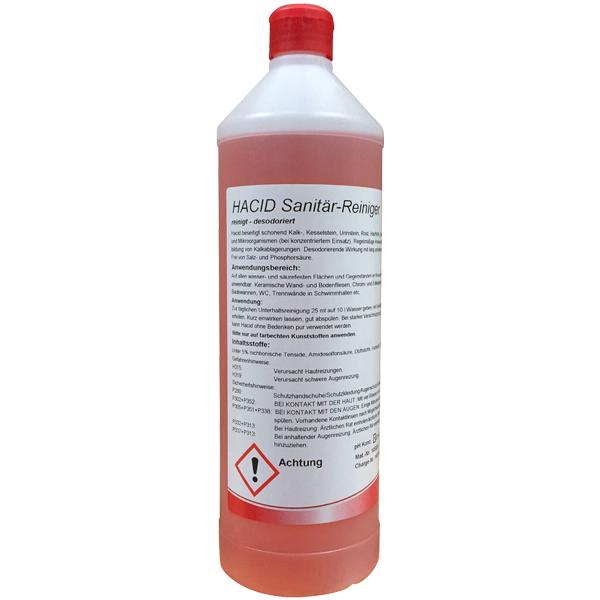 Hahnerol Hacid Sanitär-Unterhaltsreiniger 1 Liter