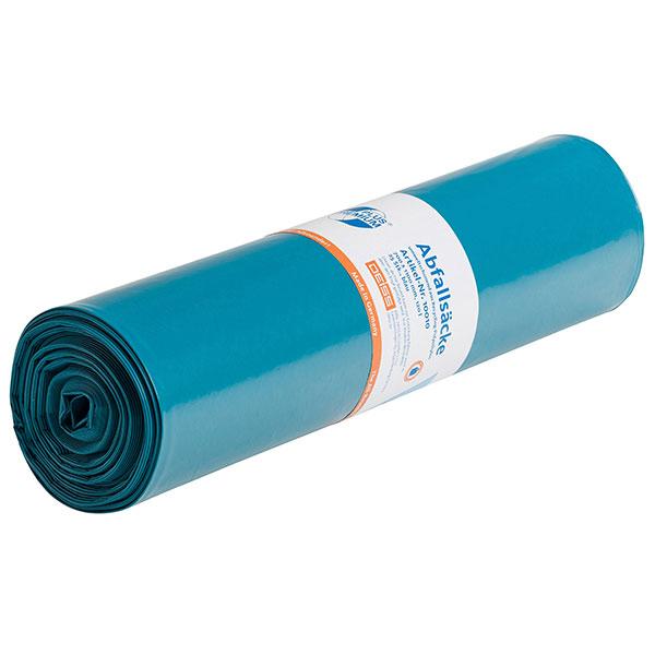 LDPE-Müllsäcke DEISS PREMIUM 120 L, blau
