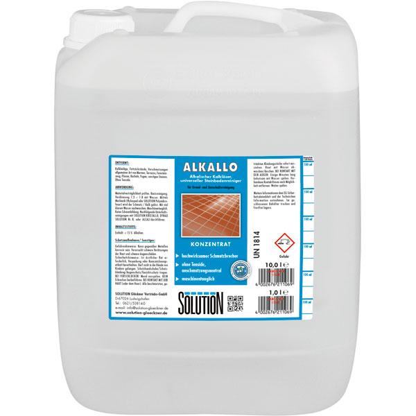 Solution Alkallo Stein-Grundreiniger universell 10 Liter