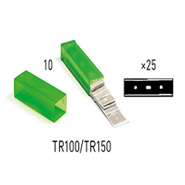 UNGER Karbon-Glasschaberklingen 10 cm ( 25 Stück ) online kaufen - Verwendung 1