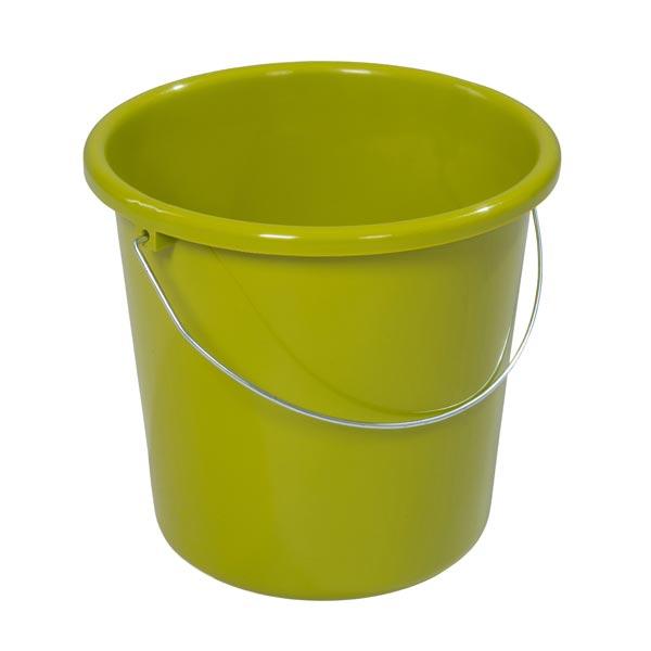 Plastikeimer rund 5 Liter kiwi