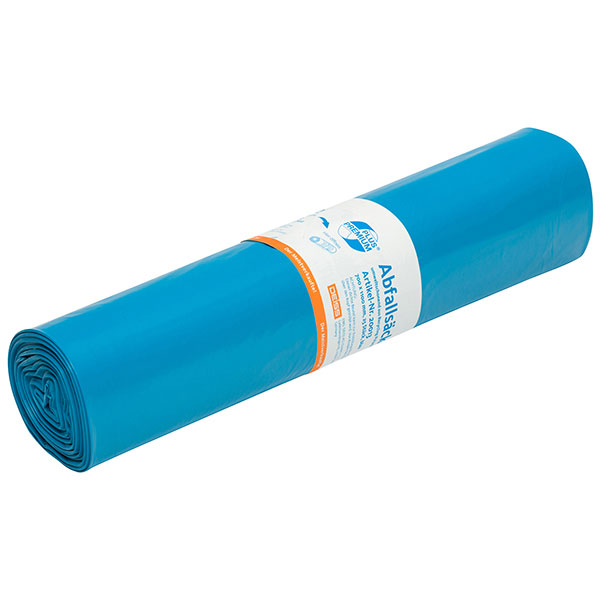 DEISS Premium Plus® Abfallsäcke blau 120 Liter ( 25 Stück )