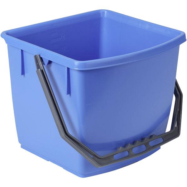 ECOLAB Floordress Eimer 15 Liter blau