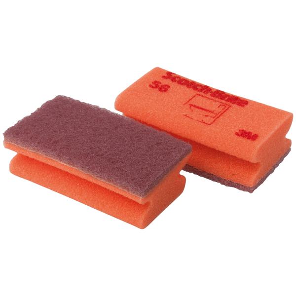 3M Reinigungsschwamm 56 rot/rot