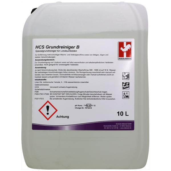 Hahnerol HCS B Grundreiniger 10 Liter