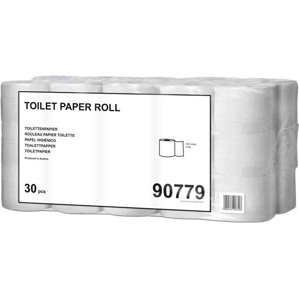 Toilettenpapier 400 naturweiß ( 30 Rollen )