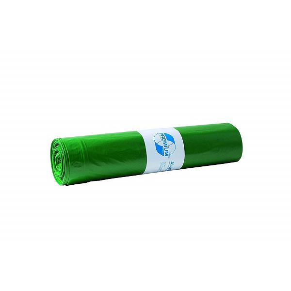 LDPE-Müllsäcke DEISS PREMIUM 120 L, grün
