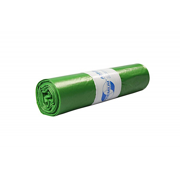 DEISS Premium® Abfallsäcke grün 70 Liter ( 25 Stück )