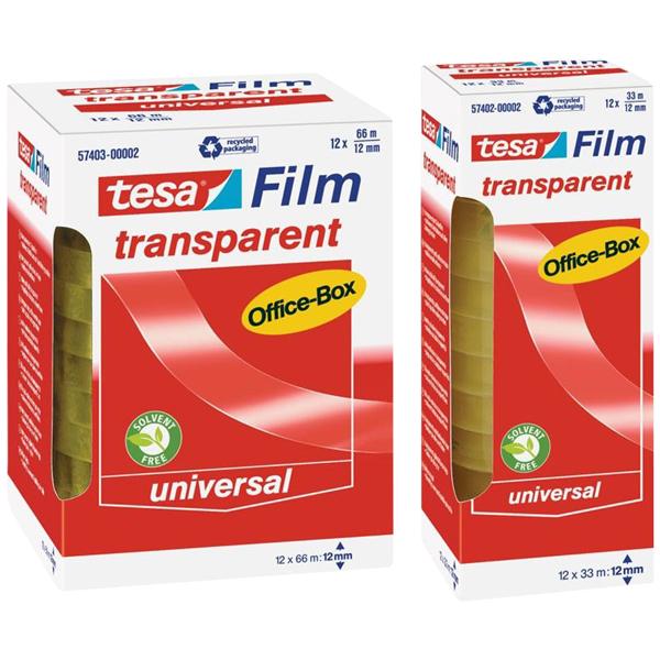 Tesafilm 66 m x 12 mm