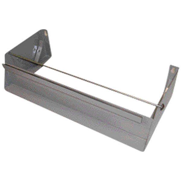 Folienspender Metall für Rollen 45 cm