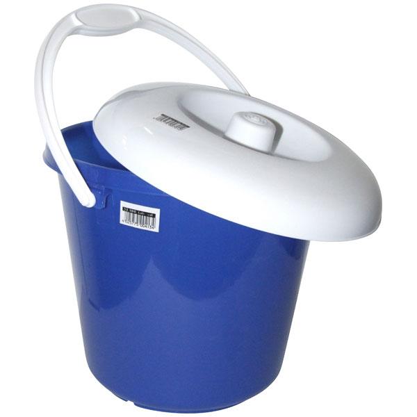Plastikeimer 5 Liter (mit Deckel) blau