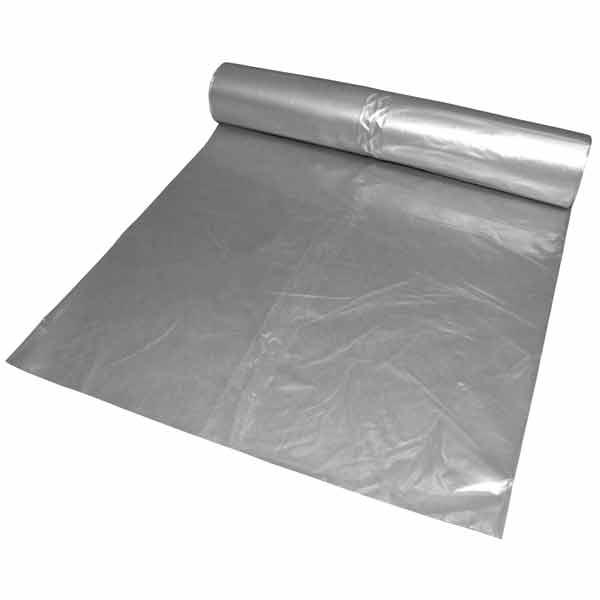 LDPE-Müllsäcke DEISS 240 L, transparent