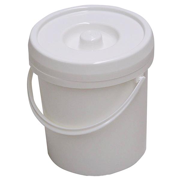 Windeleimer 12 Liter weiß